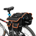 Оригинал BIKIGHT 25L Велосипед Travel Багаж Carrier Mountain Bicycle Rear Rack Seat Сумка Инструмент