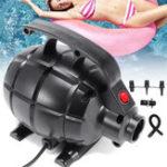 Оригинал ЭлектрическийвоздухНасосдлянадувнойподушки для гусеничных колес GYM Floor Tutling Airtrack Gymnastics Mat Inflatable