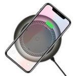 Оригинал Baseus Tornado 10W 7.5W Быстрая зарядка Qi Беспроводная зарядная панель с охлаждающим вентилятором для iPhone X 8 Plus S9