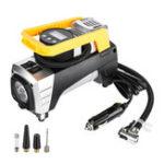 Оригинал 12V Heavy Duty Digital LED Объемный компрессор воздуха Авто мотоцикл Инфлятор для шин Насос 73PSI