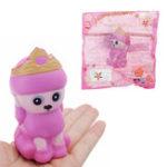 Оригинал Crown Husky Squishy 9.2 * 4.5 * 5.2CM Медленный рост с подарком коллекции упаковки Soft Toy