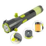 Оригинал XANESU24HandCrankingUSBаккумуляторная многофункциональная Авто Emergency Flashlight & Safety Hammer & Powerbank