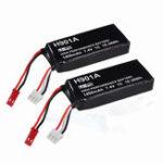 Оригинал 2Pcs 7.4V 1400mAh Lipo Transmitter Батарея для Hubsan X4 H501S H502S H109S H901A H906A передатчик