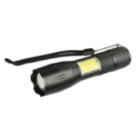 Оригинал XANES 103C-COB XML-T6 + COB 1000Lumens 4Modes Яркость Zoomable Tactical LED Фонарик