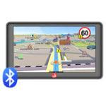 Оригинал Junsun D600-BT 7 дюймов HD Сенсорный экран Bluetooth Ручная работа Авто GPS навигация