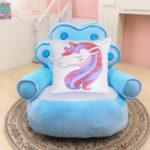 Оригинал  РадугаSequinsUnicornПодушкаОбложка40x40cm Декоративная подушка Mermaid Чехол Для Дивана Реверсивная Пи