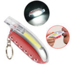 Оригинал IPRee®2в1MiniCOBLED 3 режима Брелок Свисток Light Кемпинг Light Emergency Safety Лампа