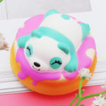 Оригинал Meistoyland Squishy Panda Cake Soft Медленный Rising Toy Kawaii Animal Cartoon Toy Gift Кулон