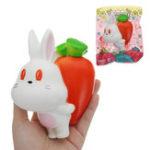 Оригинал Gigglebread Radish Rabbit Squishy Toy 10 * 5.5 * 13.5CM Медленный рост с подарком коллекции упаковки