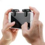 Оригинал Bakeey Геймпад Controller Trigger Touch Fire Shoot Button Assist Инструмент для PUBG Mobile Game