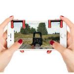 Оригинал Bakeey Игровой триггер L1R1 Button Game Shooter Controller Геймпад Assist Инструмент для игры в телефон