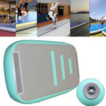 Оригинал 275.6×78.7x4inch Надувной автомобиль GYM Air Track Mat Sports Tumbling Airtrack Gymnastics Mat