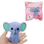 Оригинал Слон Squishy 15CM медленно растет с подарком коллекции упаковки Soft Toy