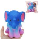 Оригинал Elephant Squishy 13.5 * 10.5 CM Медленный рост с подарком коллекции упаковки Soft Игрушка