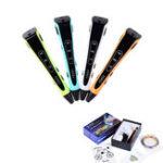 Оригинал Оранжевый/Синий/Зеленый/ Белый Цвет 110-240 В 3D-печать Ручка для поддержки ABS/PLA / PCL Регулируемая скорость