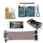 Оригинал Arduino Управление WiFi Набор с Arduino UNO R3 Board + Мотор Плата экрана щита + модуль WiFi + линия Dupont для Smart Robot Авто
