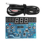 Оригинал 220V 10A -40 ° C до -300 ° C LED Интеллектуальный цифровой контроллер температуры с тремя синхронными Windows Дисплей