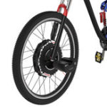 Оригинал iMortor2.0700CVТормоз350W 24V Бесколлекторный мотор Интеллектуальный велосипед переднего колеса с Батарея Digital Дисплей Speed Shifter