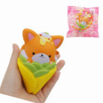 Оригинал Squishy 11.7cm кукурузное животное Kawaii Cute Soft Solw Rising Toy Cartoon Gift Collection с упаковкой