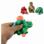 Оригинал MoFun 3PCS TPR Squishy Динозавр Юрские динозавры Squeeze Toy Gift Collection Stress Reliever