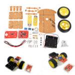 Оригинал DIY 2.4G Wireless Дистанционное Управление Smart Авто Шасси Unassembly Набор для Arduino