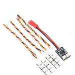 Оригинал AuroraRC 4 Bits WS2812B RGB5050 LED Board 5V C Панель управления 2-6S для F3 F4 FPV Racing RC Дрон