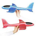 Оригинал 35cm Большой размер ручной запуск метательный самолет планер самолета DIY Инерциальная пена EPP детей игрушка плоскости