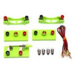 Оригинал Электрический контур Набор Катушка переключателя проводной линии Kid Школа Обучающая научная игрушка DIY Монтессори