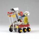 Оригинал MoFun Металлические блоки Игрушка Космическая Планета Rover Серия научной фантастики Модель DIY Игрушки 189 PCS С Набор