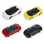 Оригинал Super Cute Creative Солнечная Powered Toy Mini Авто ABS Нетоксичный материал Детский подарок для подарков