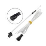 Оригинал 2Pcs NTC100K Термистор для 3D-принтера с плавным подключением Высокая термостойкость