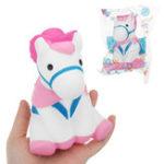 Оригинал Лошадь Squishy 12 * 9 CM Медленное восхождение с подарком коллекции упаковки Soft Toy