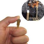 Оригинал IPRee®НаоткрытомвоздухеEDCЛатунь Mini Flint Emergency Брелок Стартер зажигателя Кемпинг Мгновенное выживание Инструмент