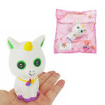 Оригинал Unicorn White Кот Squishy 15CM Slow Rising With Packaging Collection Gift Soft Игрушка