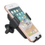 Оригинал 2 in 1 Gravity Qi Беспроводное зарядное устройство LED Сотовый телефон Авто Зарядное устройство для вентиляции воздуха