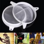 Оригинал Honey Strainer Double Сито Фильтр для пчеловодства Набор Набор для скиммера Fiber Net Apiary Оборудование