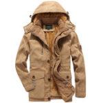 Оригинал Руна Warm Plus Толстая зимняя ветрозащитная колпак На открытом воздухе Куртка