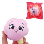 Оригинал Meistoyland Squishy Slow Rising Squeeze Toy Stress Ice Cream Cotton Candy Gift