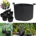 Оригинал Растение Grow Сумка 1-20 Галлон дышащий Veg растущий контейнер для сахара