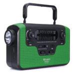 Оригинал Солнечная Работает портативный Bluetooth Динамик Аудио Радио AM FM SW SD Card Ручная рукоятка