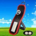 Оригинал 3W 120lm Портативный COB High Power LED Work Light Батарея Powered Zooming Кемпинг Light for Outdooor