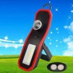 Оригинал 3W 120lm Портативный COB High Power LED Work Light Батарея Powered Zooming Кемпинг Light for Outdooor