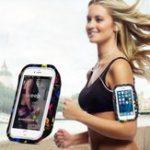 Оригинал HAISSKYНаоткрытомвоздухеБегВодонепроницаемы Экран Touch Arm Сумка Чехол для мобильного телефона Xiaomi под 5,5 дюйма