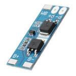 Оригинал 10шт 2S 7.4V 8A Пиковый ток 15A 18650 Lithium Батарея Защитная плата с функцией защиты от перегрузки