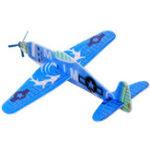 Оригинал Flying Glider Plane Toy Air Sailer Игрушка Самолет Случайный цвет День рождения Рождественский подарок для детей