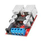 Оригинал DC8V-35V до 5V 8A Power Step Down Module 4-портовый USB-мобильный телефон Авто Поддержка зарядного устройства Быстрая зарядка