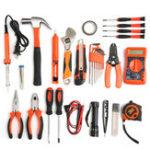 Оригинал 35Pcs Multifuntional Набор Набор Набор Электрический электрический электрический прибор Наборs Hardware Toolbox