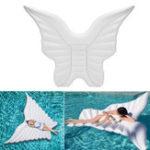 Оригинал ГигантскиенадувныекрыльяангелаВодяныепоплавки на плотах Бассейн Пляжный Lounger Toy