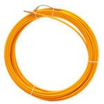 Оригинал 10M / 20M / 30M 6-миллиметровый стекловолоконный кабель Puller Fish Tape Reel Conduit Ducting Rodder Pulling Puller