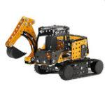 Оригинал MoFun 3D Metal Puzzle Строительство Грузовик из нержавеющей стали Модель Building Toy 351PCS